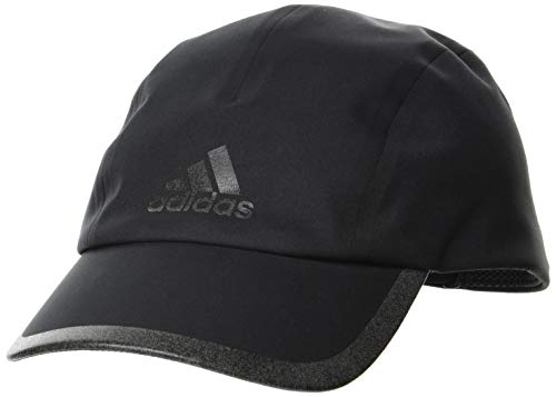 adidas Run Bonded Cap Gorra, Unisex Adulto, Negro/Negro/Blkref, Talla Única