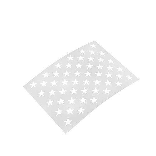 PIXIEY DIY snijden sterven Wit 37,6 * 26Cm Schilderen Stencil Amerikaanse Vlag 50 Ster Stencils Sjabloon Schilderen Scrapbooking Embossing Ambachten Kunst