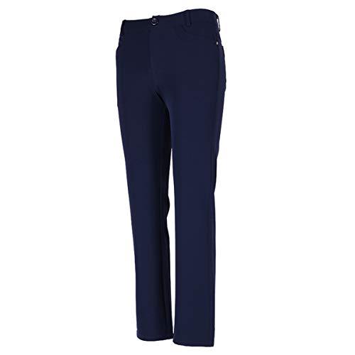 Dreamworldeu Damen Golf Hose Pants Freizeit Sporthose Stretch Lange Hosen