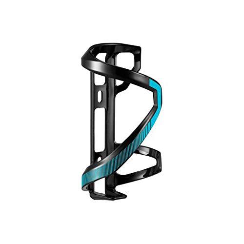 GiANT Airway Sport Ausgezeichnete Flexible, Geschmeidig und Haltbar Sidepull (Links & rechts) Radfahren Flaschenhalter - (Mattschwarz/Gloss Blau) (Rechte Seite)