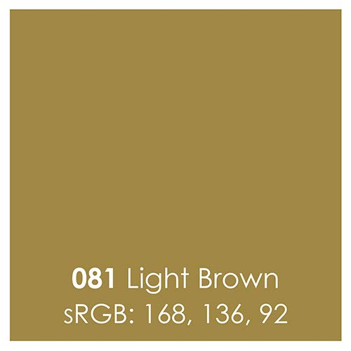 Oracal 651 Glossy Permanent Vinyl 12 Inch x 6 Feet - Light Brown