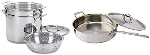 Top 10 Best cuisinart stainless steel pots and pans Reviews