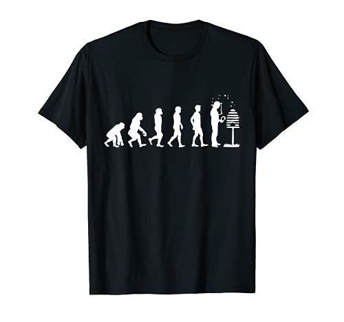 Evolution Imker Shirt I Geschenk Bienenzüchter Imker-Verein