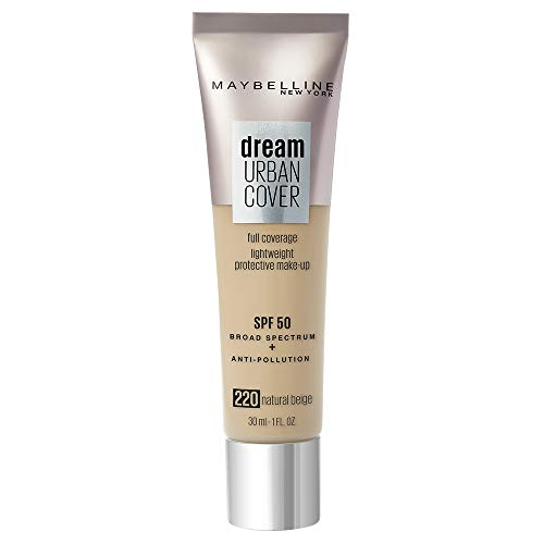 Maybelline Base de maquillaje fps 50 de maybelline dream urban cover! natural beige 220