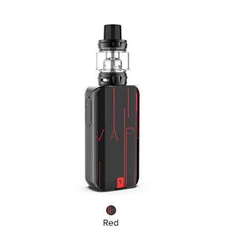 Vaporesso Luxe-S kit, Vaporesso Luxe-S Mod y Skrr-S Tank, Compatible con Vaporesso QF Strip, QF Meshed y Vaporesso GT, No Nicotina y Tabaco(Rojo)