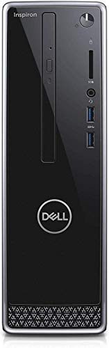 Newest Dell Inspiron 3471 Small Form Mini Desktop, 9th Gen Core i3-9100 3.60 GHz, 8GB DDR4 RAM, 256GB M.2. SATA SSD(Boot) + 1TB HDD, 802.11bgn + Bluetooth 4.0, HDMI, VGA, DVD-RW, Windows 10