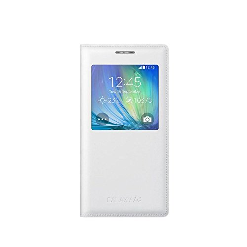 Samsung S-View Etui pour Samsung Galaxy A5 Blanc (modèle 2015)