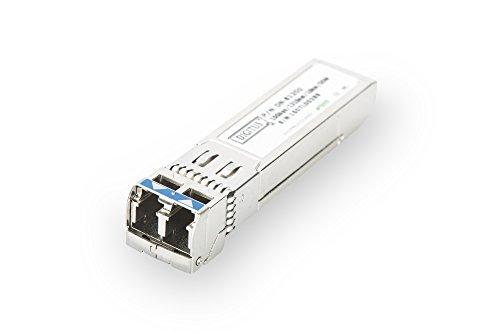 DIGITUS 10 Gbit Universal SFP+ Modul, Mini GBIC, Multimode, LC Duplex, 850 nm, 300 Meter, 10 Gbit/s