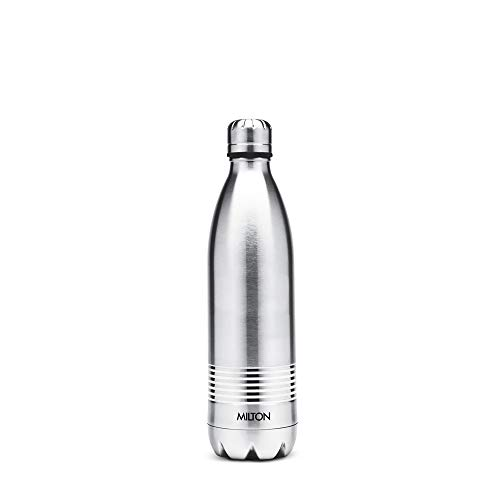STH Milton Thermosteel Duo DLX Bottle (500 ML, Silver)