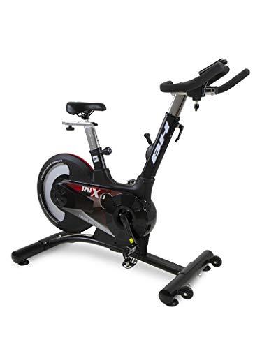 BH Fitness Bicicleta de ciclismo indoor RDX1.1 H9179 Volante trasero y freno a fricción. Inercia 20 Kg. Uso intensivo. Manillar de triatlón