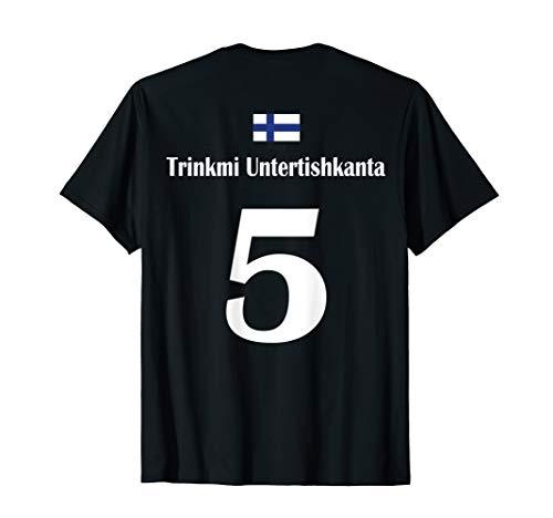 Finnland Sauf Trikot Trinksprüche Saufsprüche Team Mallorca T-Shirt