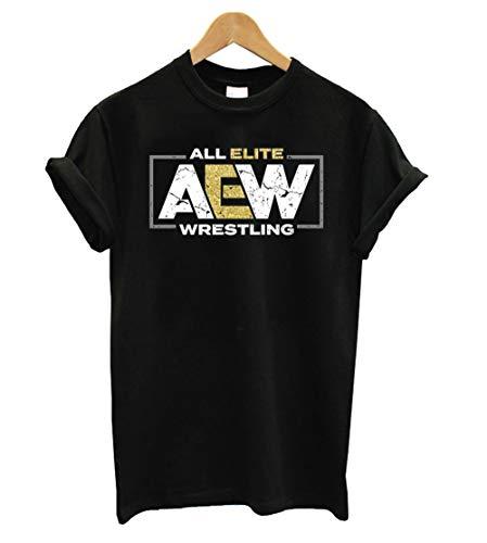 AEW Logo - All Elite Wrestling T Shirt - T Shirt For Men and Women.