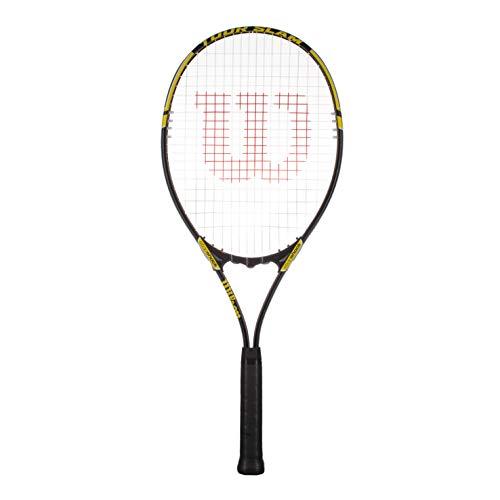 Wilson Tour Slam - Raqueta de tenis para adultos, color negro y amarillo
