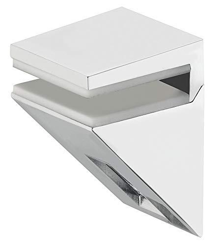 Gedotec Design - Soporte para baldas de cristal (acero inoxidable, soporte para...