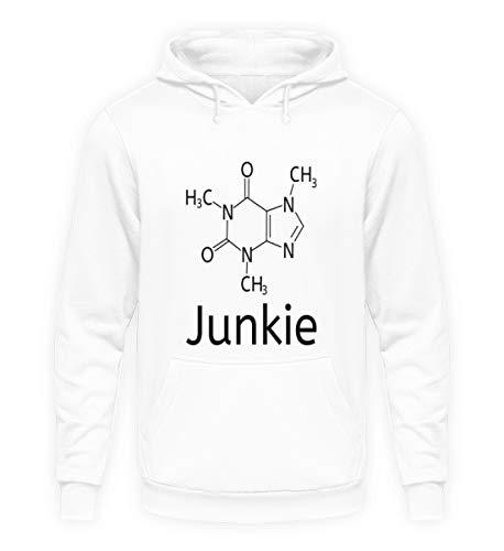 Cafeïne-junkie voor chemische nerds, chemicaliën en koffiefans - Unisex capuchontrui hoodie