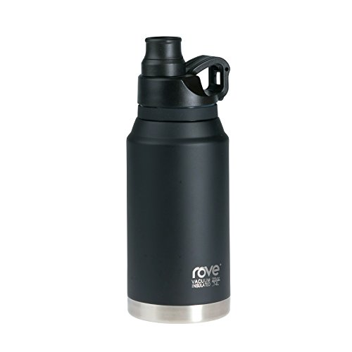25oz Double Wall Stainless Steel Vacuum Seal Bottle - Limitless 2 (Black)