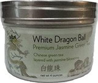 Premium Dragon Pearl Jasmine Green Tea- Loose Leaf (4 oz)