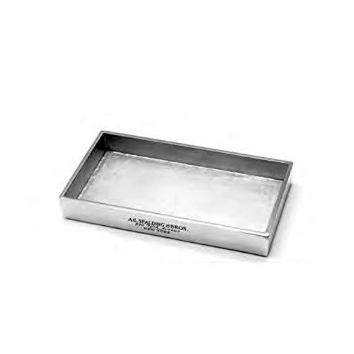 Portapenne orizzontale Spalding & Bros A.G. Utility multifunction oggetto scrivania alluminio 22x12,5x3 cm 862849U828