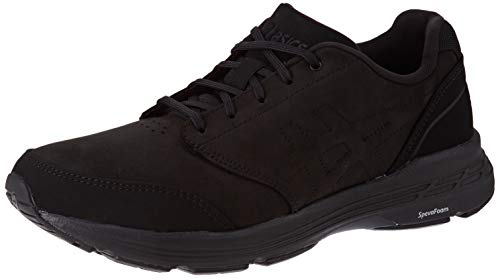 Asics Gel-Odyssey, Walking Shoe para Hombre, Negro/Negro, 42 EU