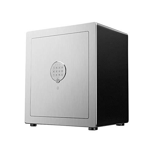 ZXNRTU Cajas de seguridad para el hogar, Gabinete cajas fuertes caja fuerte electrónica Home Box Con Clave de código y combinación de bloqueo de seguridad contra incendios impermeables adultos seguros