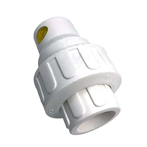 Harilla Blanco Plástico Durable Del Tubo de Los Adaptadores de Las Instalaciones de Tuberías de PPR de La Válvula PPR 1'de 32m M