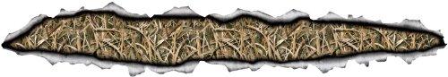 Mossy Oak Grafiken 10013-sgb Camouflage 114,3x 20,3cm Schatten Gras Klingen Torn Metall Streifen