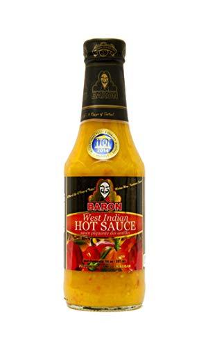 Baron West Indian Hot Sauce 397ml - klassische karibische Chillisauce