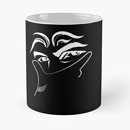 - Dybala Mask Classic Mug Best Gift Ceramic 11oz Coffee Mugs