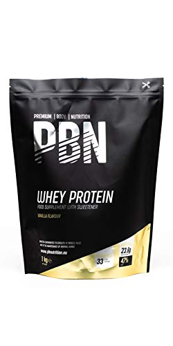 Premium Body Nutrition Whey Protein Powder 1kg Vanilla
