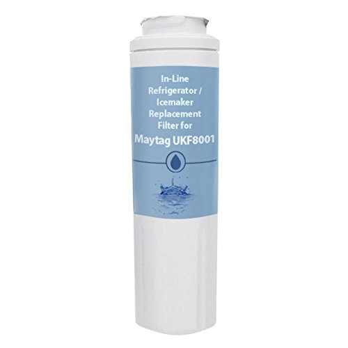 Aqua Fresh Replacement Water Filter for Maytag MFI2569VEM2 / MFI2569VEM4 Refrigerator Models AquaFresh
