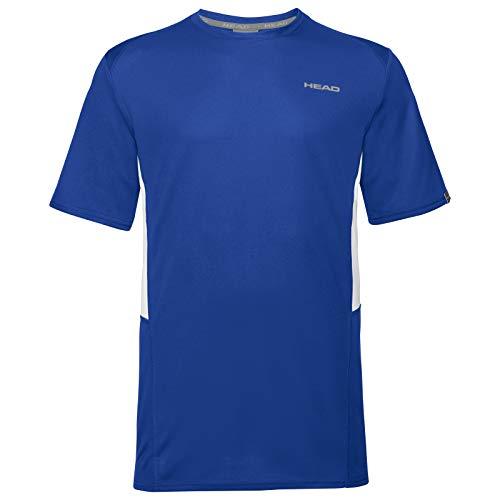 HEAD Jungen CLUB Tech B T-shirts CLUB Tech T-Shirt B, royal, XL (Herstellergröße: 164)