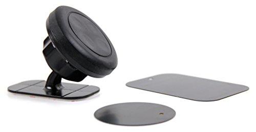 Supporto Magnetico Cruscotto Auto Per Cellulare Wiko View Prime | View XL | View / Wileyfox Swift 2 X - DURAGADGET