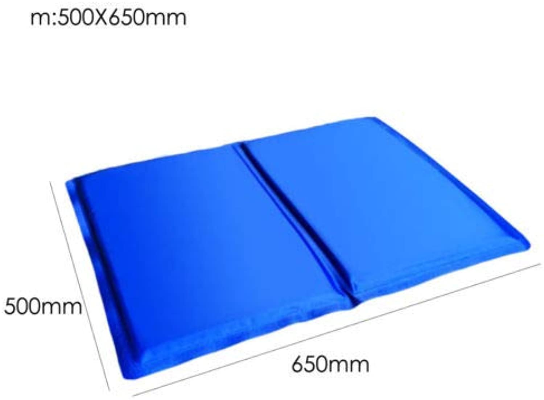 FidgetGear Pet Cooling Mat Gel Pad for Small Medium Dog Cat Waterproof Cushion Cold Bed New M(65  50\u22646kg)