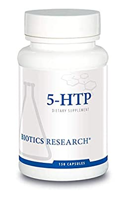 Biotics Research 5HTP 50mg 5HTP Brain Health Promotes Calm Relaxed Mood Overall Sense of Well Being. Serotonin Production. 150 Capsules