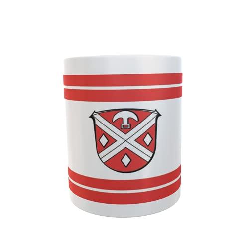 U24 Tasse Kaffeebecher Mug Cup Flagge Modautal