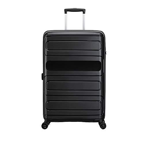 Grote 28-inch ultra-lichte en duurzame bagage, PP harde koffer trolley case met 4 wielen TSA douaneslot
