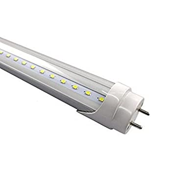 "Fulight® Dimmable ¤ T8 LED Tube Light - T8 4FT 48"" 18W (32W Equivalent), Daylight 6000K/Cool 4500K/Warm 3000K, FO32/741, F32T8, F34T12, Double-End Powered, Frosted Cover,110/120VAC"