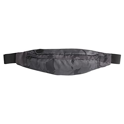 Ruibuy Cintura da Corsa Unisex Fanny Pack Impermeabile in Vita Regolabile con Tasca con Cerniera per attività Sportive all'aperto