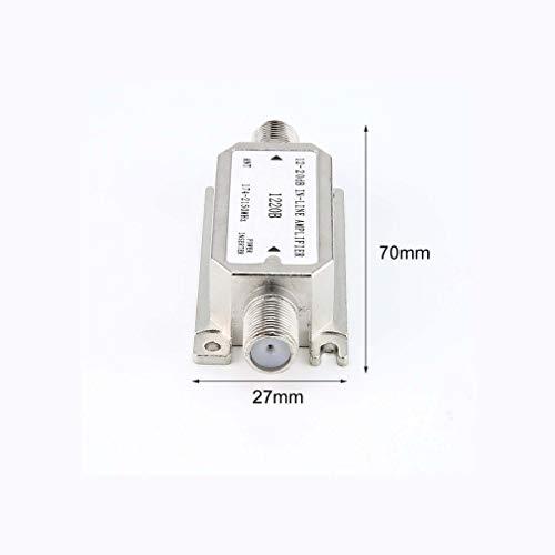 12-20dB in-line Amplifier(Satellite Slope line Amplifier)(1220B) Amplifier Works with All Satellite
