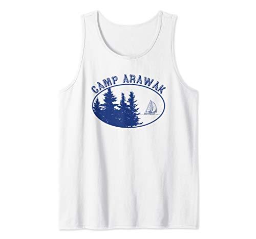 Camp Arawak Shirt Retro Summer Camp Tank Top