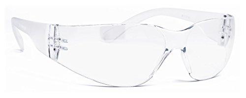 Infield Nestor Schutzbrille, transparent, Nur 23 Gramm, hoher Tragekomfort, extrem Robust, UV-Schutz, kratzfeste Beschichtung
