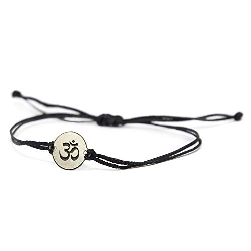 Pulsera ajustable de acero inoxidable YOGA JEWELRY OM en...