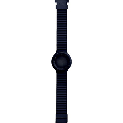 Cinturino HIP-HOP UNISEX HERO 32, SILICONE NERO HBU0012