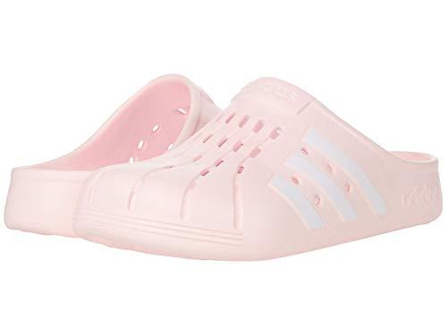 adidas,Unisex-Adult,Adilette Clog,Pink Tint/White/Pink Tint,4