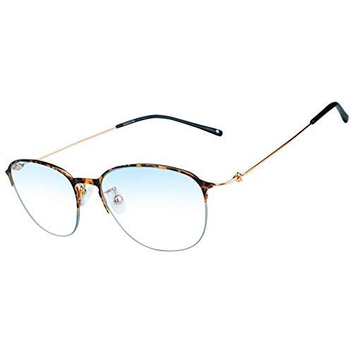 Mode Gleitsichtgläser Anti Blue Ray Multifocal-Lesebrillen Presbyopic Brille Frauen-Design-Glas-Rahmen,Tortoise,+2.75