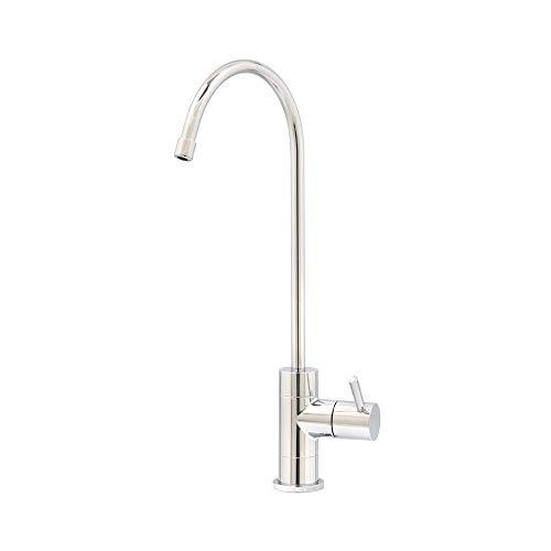 Carbonit Einweg Wasserhahn WS-8 Chrom geeignet, Wasserfilter Küchenarmatur, Wasserhahn Umkehrosmose, Osmose Wasserhahn, Für Osmoseanlagen Trinkwasseranlagen