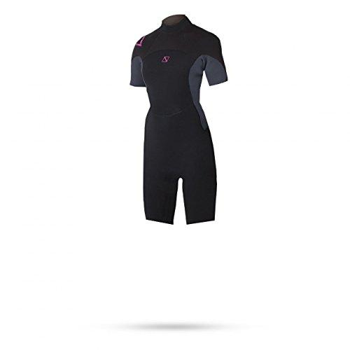 Magic Marine Womens Brand 3 / 2mm Shorty Neoprenanzug Pink - Easy Stretch - Flachnähte