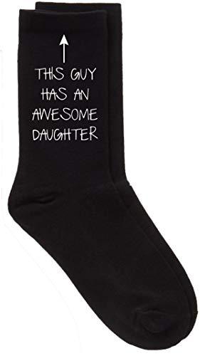 60 Second Makeover Limited Herren Das Guy hat eine toll Tochter schwarz Wade Socken Vatertag Papa Geschenk