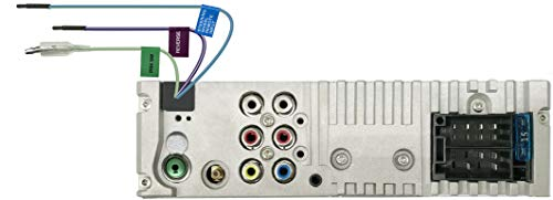 JVC KD-X561DBT USB-Autoradio mit DAB+, Bluetooth und 3 TFT-Farbdisplay (Rückfahrkameraeingang, AUX-Eingang, MP3, WMA, FLAC, DSP, 4 x 45 Watt)