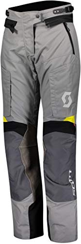 Scott Dualraid Dryo Damen Motorrad Hose grau/gelb 2020: Größe: XXXXL (48/50)